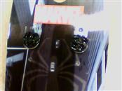 Earrings Black Stainless 1g